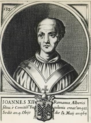 Portrait of Pope John XII