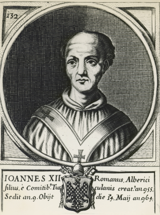 Portrait of Pope John XII