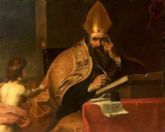 Gerard_Seghers_(attr)_-_The_Four_Doctors_of_the_Western_Church,_Saint_Augustine_of_Hippo_(354–430)
