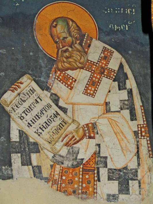 St._Athanasios_the_Great,_lower_register_of_sanctuary