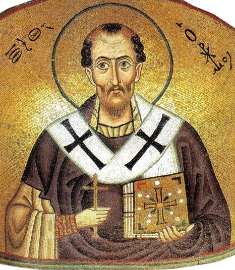 Hosios_Loukas_(nave,_south_east_conch)_-_John_Chrysostom_-_detail