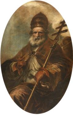 Herrera_mozo_San_León_magno_Lienzo._Óvalo._164_x_105_cm._Museo_del_Prado