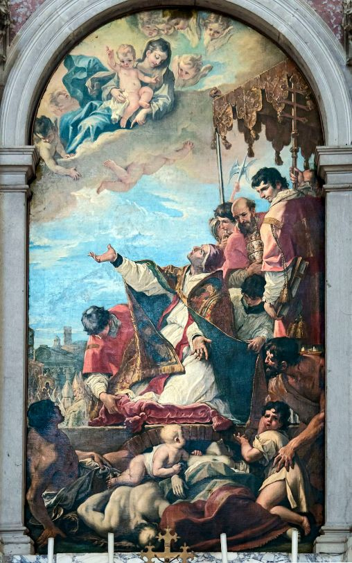 Santa_Giustina_(Padua)_-_St._Gregory_the_Great_by_Sebastiano_Ricci