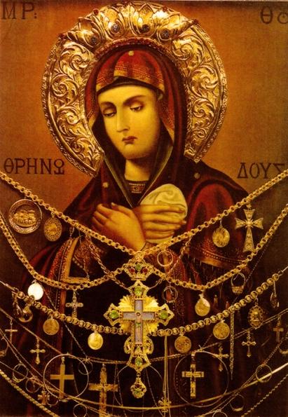 Theotokos_by_Deacon_Ioasaf_Athonites