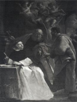 Schilderij_Thomas_van_Aquino,_Sint_Petrus_en_Paulus,_17e_eeuw,_Sint-Servaasbasiliek,_Maastricht