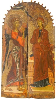 Annunciation,_Late_XIV_Century,_St_Constantine_and_Helena_Church,_Ohrid_Icon_Gallery