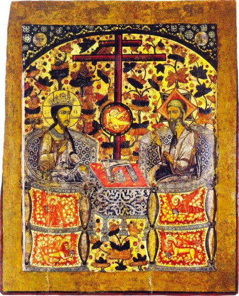 Co-enthronment_icon_(Uglich,_old_believers)