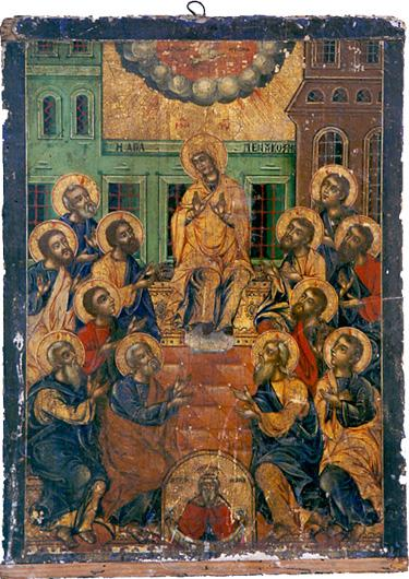 028_Pentecost_Icon_from_Saint_Paraskevi_Church_in_Langadas