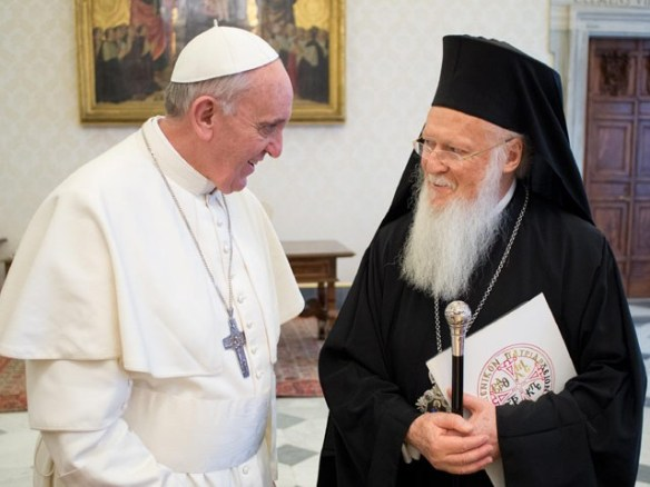 Pope Francis and Ecumenical Patriarch Bartholomew