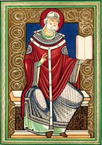 Portrait of Pope Gregory I