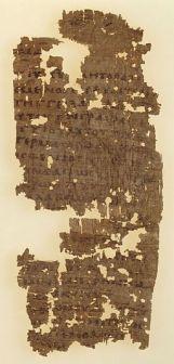 Papyrus_26_-_Papyrus_Oxyrhynchus_1354_-_Bridwell_Papyrus_1_-_Epistle_to_the_Romans_1,1-16_-_recto