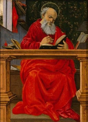 'Saint_Jerome_in_his_study',_painting_by_Filippino_Lippi,_c._1493,_El_Paso_Museum_of_Art