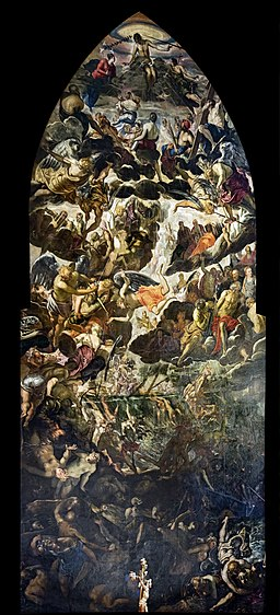 Madonna dell'Orto (Venice) - Choir - The Last Judgment by Jacopo Tintoretto