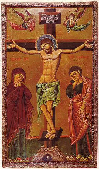 512px-Crucifixion_Icon_Sinai_13th_century